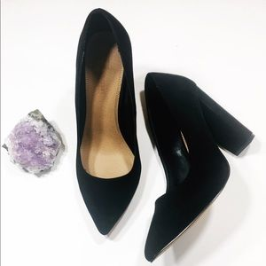 ASOS Stacked 4 Inch Heel Pointy Toe Heels Size 9